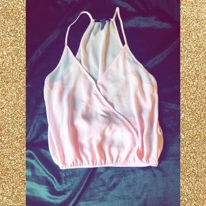 Forever 21 Pink Bodysuit Top
